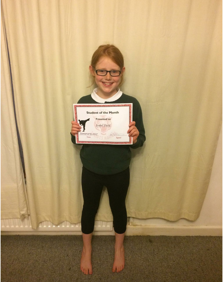 January Student of the Month 5