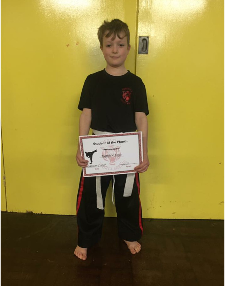 January Student of the Month 3