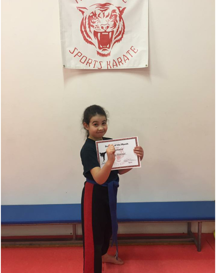 January Student of the Month 1