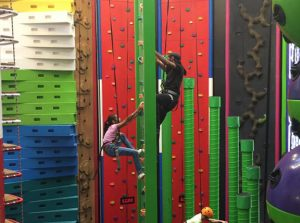 Clip and Climb family social