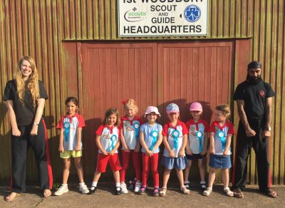 Kickboxing for Woodbury Rainbows