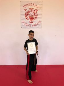 Mo with instructors certificate