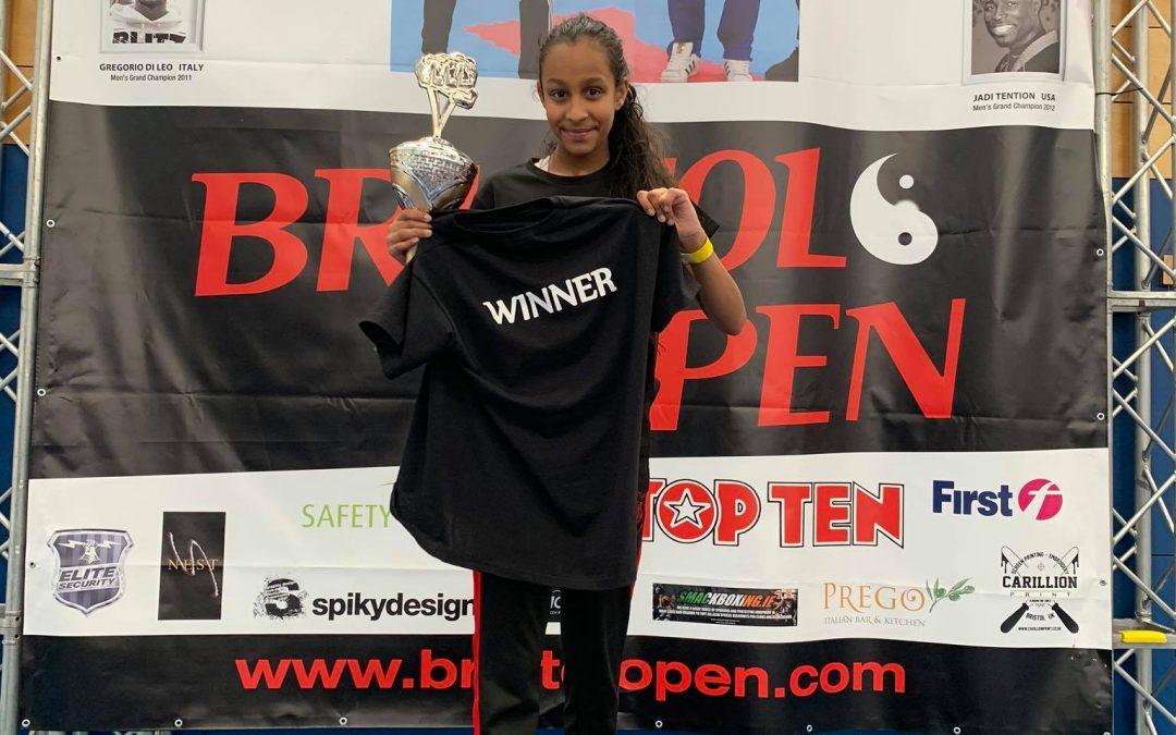 Summer wins Gold at Bristol Open 2019